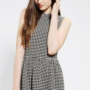 Cooperative Black & White Mini Dress